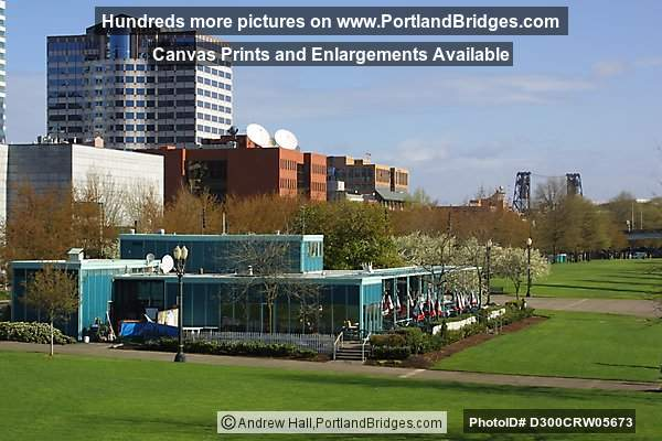 Tom McCall Waterfront Park, McCall's Restaurant, 2002 (Portland, Oregon)