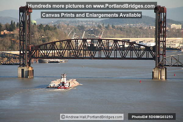 Burnlington Northern Railroad Bridge 5.1 (Portland, Oregon)