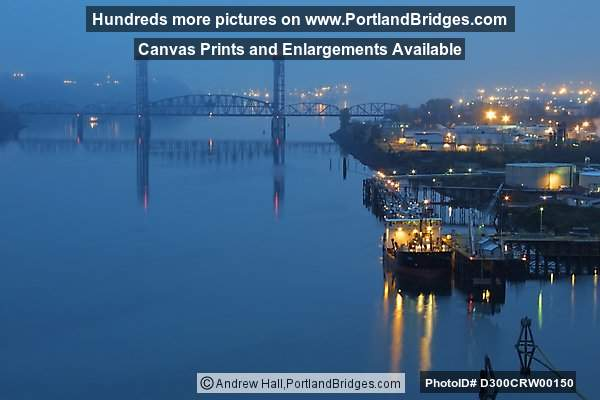 Burlington Northern Railroad Bridge 5.1, Willamette River (Portland, Oregon)