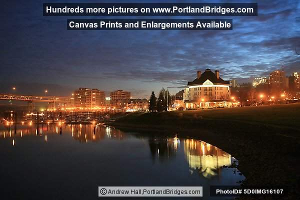 Riverplace at Dusk (Portland, Oregon)