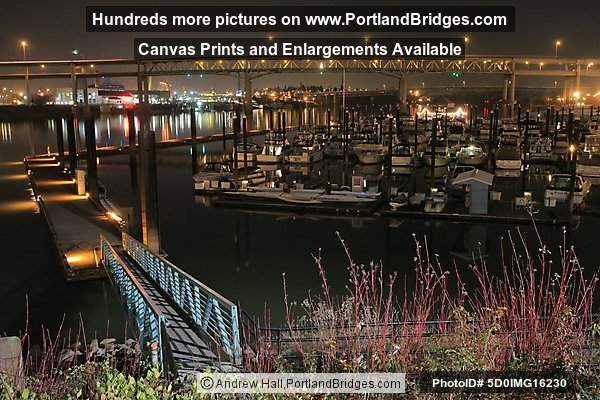 Riverplace Marina at Night (Portland, Oregon)