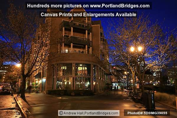 Riverplace at Night (Portland, Oregon)