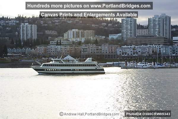 Portland Spirit, Riverplace (2002), Willamette River, Portland