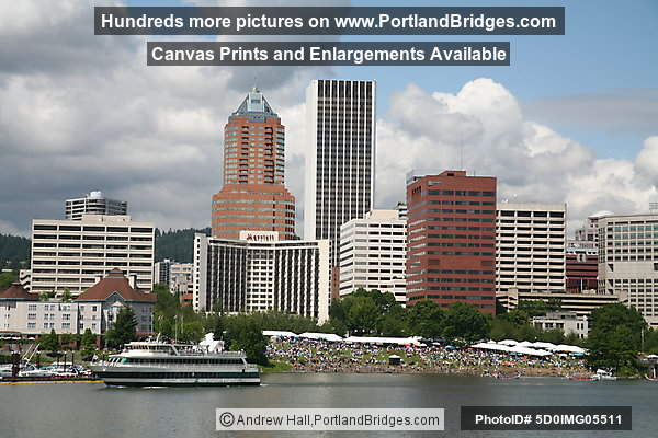 Portland Spirit, Dragon Boat Races, Willamette River