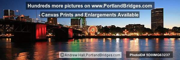 Rose Festival Waterfront Village, Panoramic (Portland, OR)