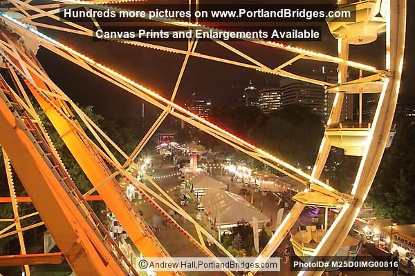 Rose Festival 2012, Ferris Wheel, Downtown Portland