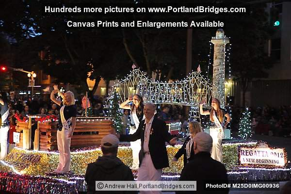 Starlight Parade 2012: Astoria Regatta Float (Portland, Oregon)