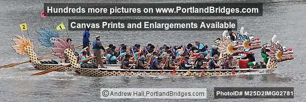 Portland Rose Festival 2012 Dragon Boat Races