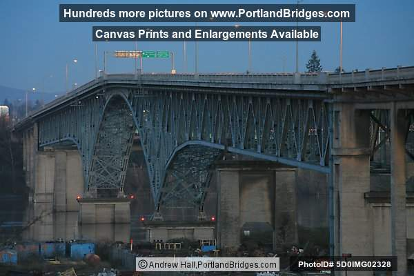 Ross Island Bridge, Dusk (Portland, Oregon)