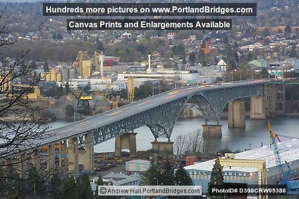 Ross Island Bridge, 2002 (Portland, Oregon)