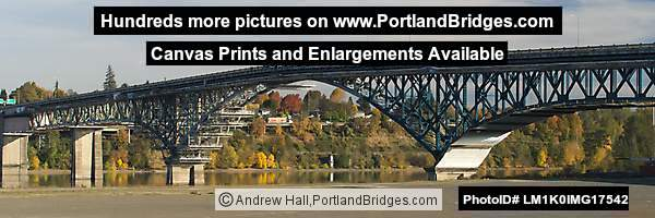 Ross Island Bridge, under Renovation, 2017 (Portland, Oregon)