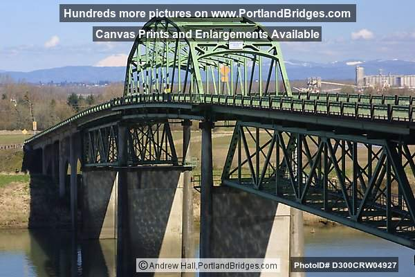 Old Sauvie Island Bridge (Demolished in 2008) (Portland, Oregon)