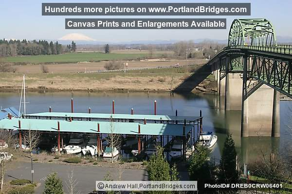 Old Sauvie Island Bridge (Demolished in 2008)