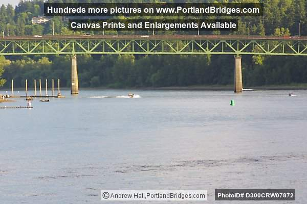 Old Sellwood Bridge from Portland Spirit, Willamette River