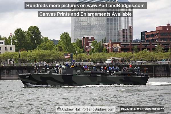 PT-658, Willamette River, in town for Portland Rose Festival 2012
