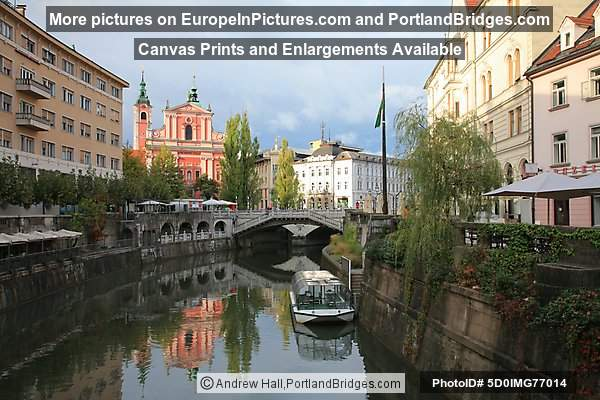 Franciscan Church, Triple Bridge, Ljubljana