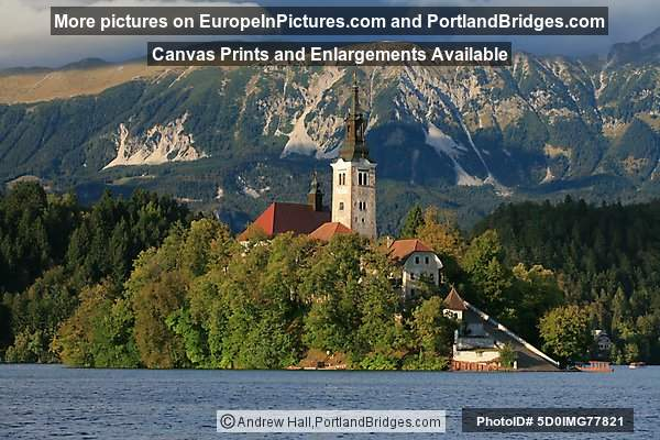 Church of the Assumption, Island, Lake Bled