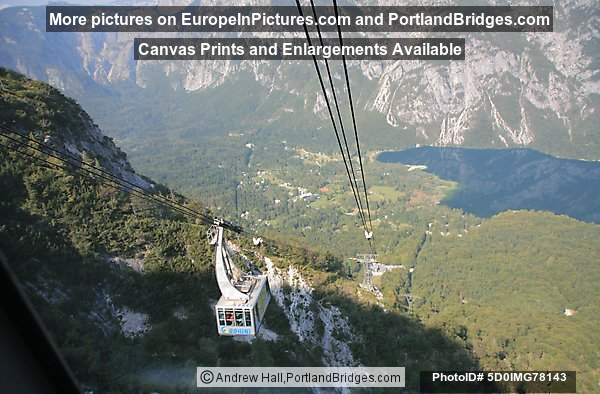 Mt. Vogel Cable Car, Lake Bohinj