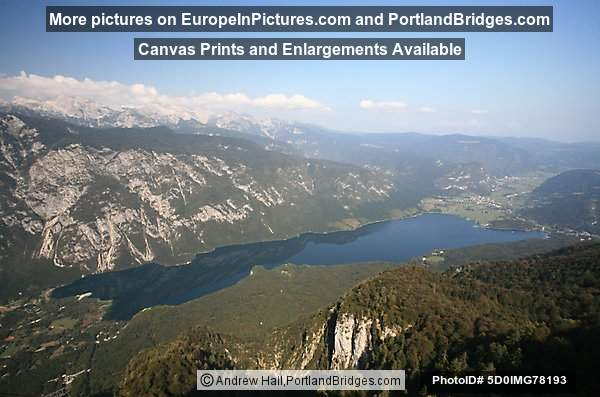 Lake Bohinj from Mt. Vogel