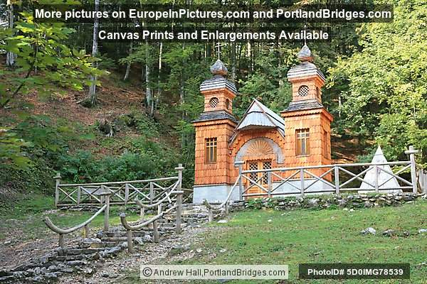 Russian Chapel, Vrsic Pass, Slovenia