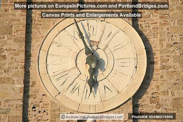 Bell Tower Clock, Cathedral of St. George, Piran
