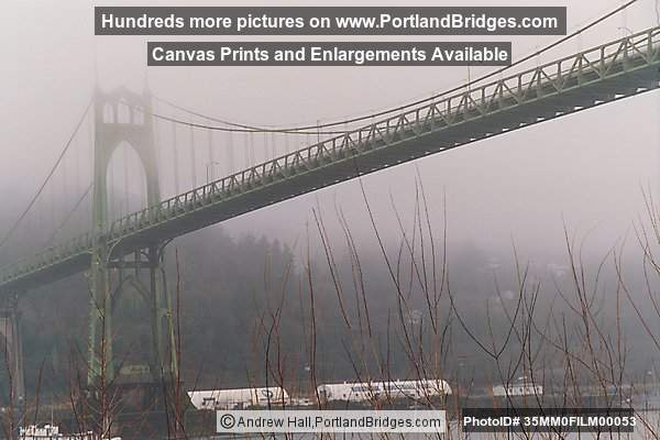 St. Johns Bridge, Fog