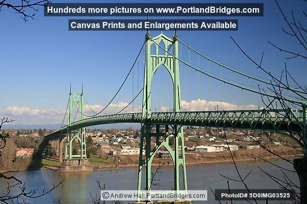 St. Johns Bridge, Daytime