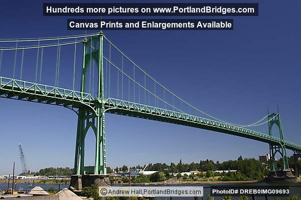 St. Johns Bridge, Daytime (Portland, Oregon)