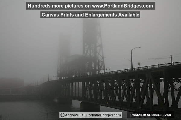 Steel Bridge, Fog