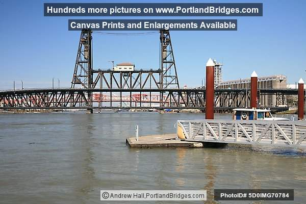 Steel Bridge, Portland Riverfront