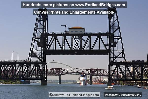 Steel Bridge, Willamette River (Portland, Oregon)