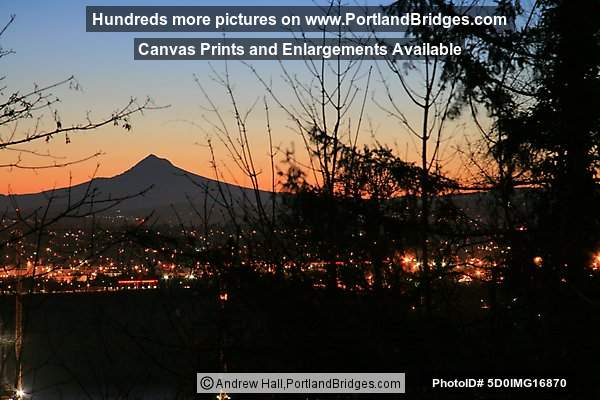 Mt. Hood, Daybreak (Portland, Oregon)