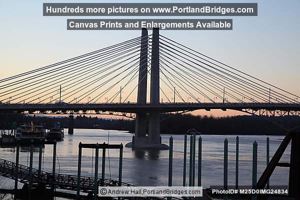Tilikum Crossing, Daybreak (Portland, Oregon)