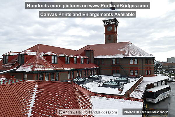 Union Station, Snow (Portland, Oregon)