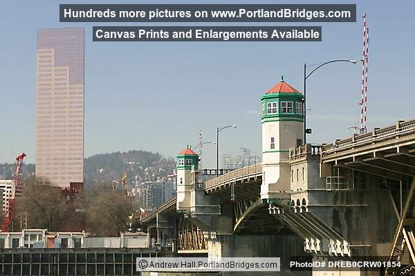 Burnside Bridge and US Bancorp Tower (Portland, Oregon)
