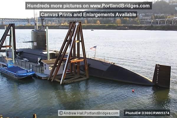USS Blueback Submarine at OMSI (Portland, Oregon) Photo