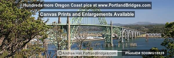 Yaquina Bay Bridge, Panoramic Pictures